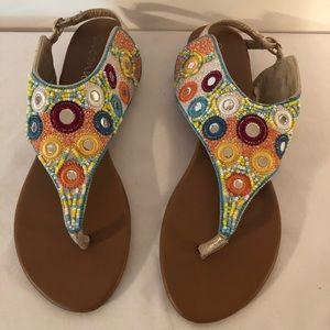 Coconuts Taylor Women's Multi Color Sandals 10 M